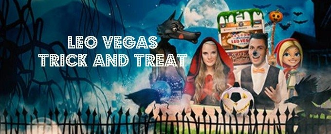 Leo Vegas Trick or Treat Halloween Craze is on