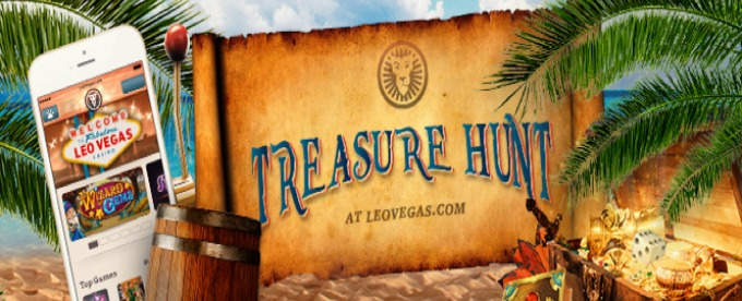 Check LeoVegas Treasure hunt winners
