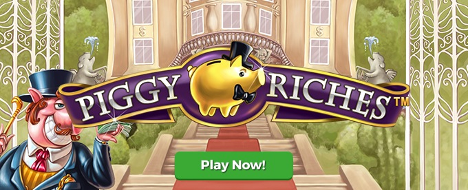 Play Piggy Riches slot on Leo Vegas casino