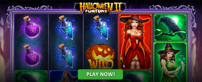 Play Halloween Fortune II slots at Casino.com Canada