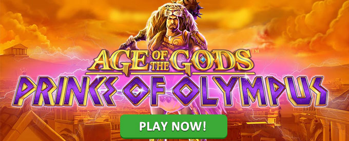 Play Age of the Gods: Prince of Olympus slot at bgo casino