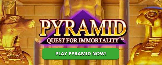 Play Pyramid Quest for Immortality slot at Casumo casino