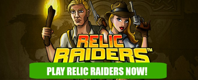 Play Relic raiders slot at Casumo casino