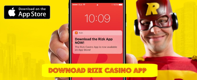 Download Rizk Casino iOS App