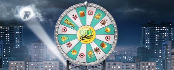 Rizk Casino launches the new Extra Bonus Wheel