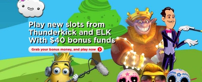 Get £40 for playing slots at Royal Panda Casino