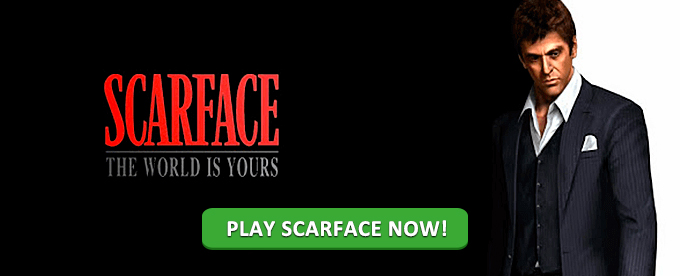 Play Scarface at Mr Smith casino