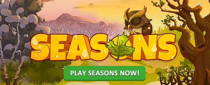 Play seasons slot on LeoVegas casino