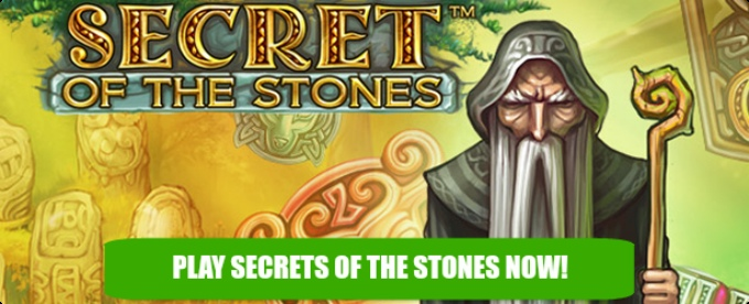 Play Secrets of the Stones slot at Casumo casino