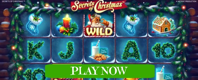 Play Secrets of Christmas slot soon at Casumo casino