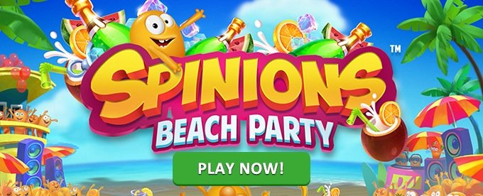 Play Spinions at Instacasino and get prizes
