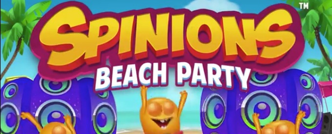 Play Spinions Beach Party slot on Casumo casino