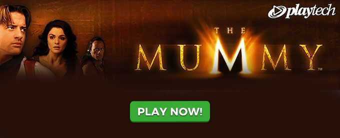 Play The Mummy slot at LeoVegas casino
