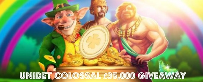 Win with colossal £35,000 Unibet Cash Giveaway