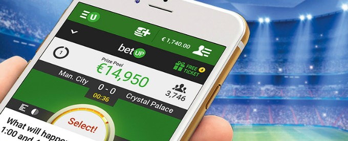 Try new Unibet BetUp app