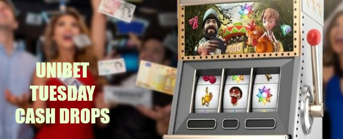 Get regular Tuesday cash drops at Unibet casino