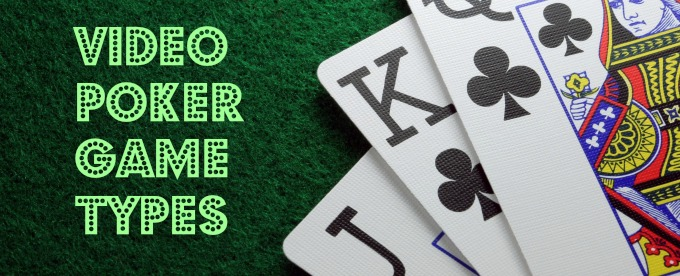 Types of poker games at home