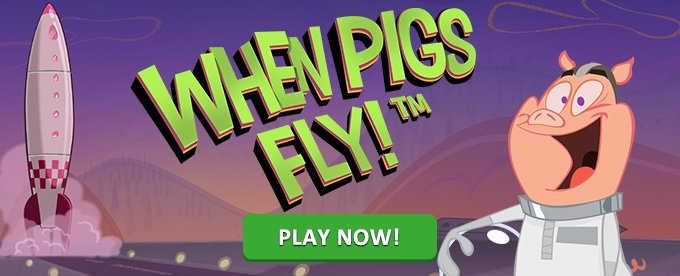 Play When Pigs Fly slot at Casumo casino