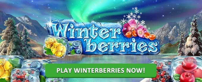 Play Winterberries slot on Leo Vegas casino