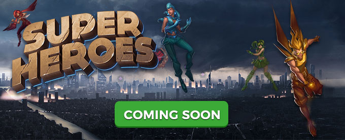 Super Heroes Slot from Yggdrasil is coming soon