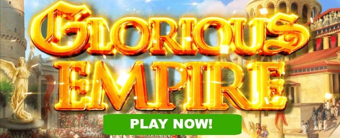 Play Glorious Empire slot at Dunder Casino