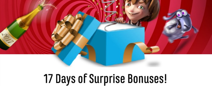17 Days of Bonuses at SPiNiT Casino