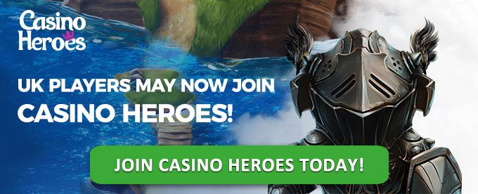 Join Casino Heroes today!
