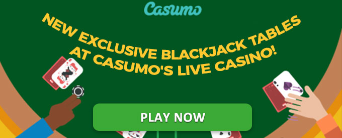 Play at Casumo's Live Blackjack Tables now!