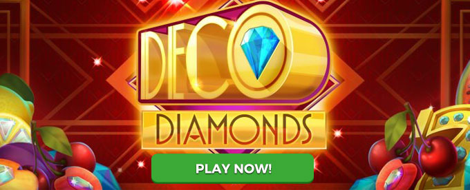 Play Deco Diamonds slot now