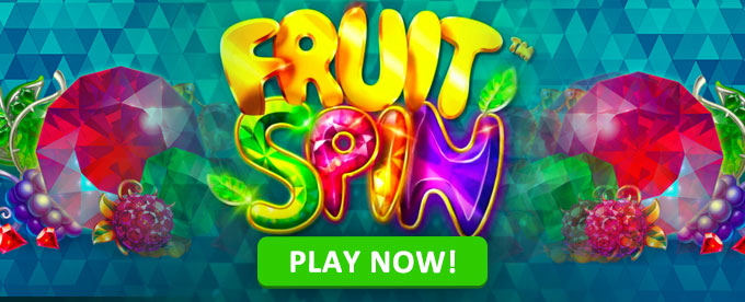 Play Fruit Spin slot now!