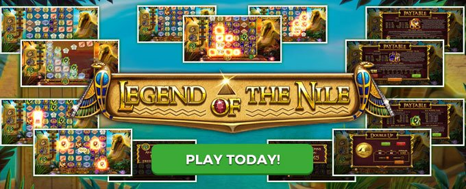 Play Legend of the Nile slot today