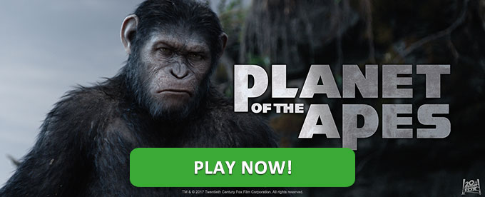 Planet of the Apes slot - plan now!