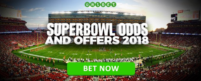 Bet on the Super Bowl now!