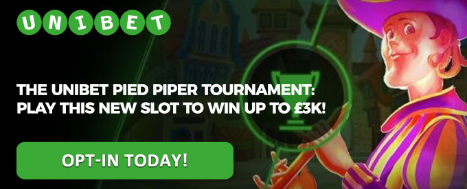 Opt-in with Unibet today