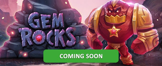 Gem Rocks slot by Yggdrasil: coming soon