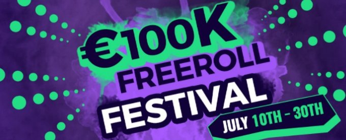 RedBet Poker 100K Freeroll Festival July