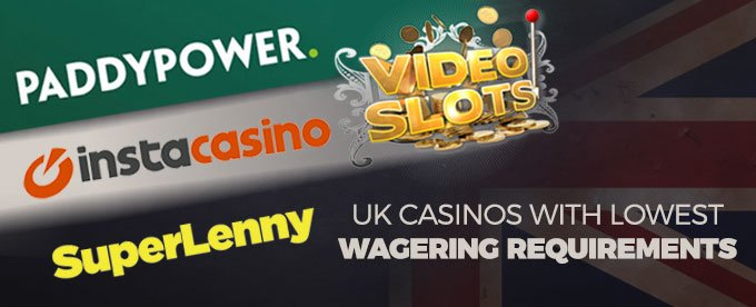 lowest wagering requirements casino australia