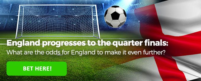 Click to bet on England vs Sweden!