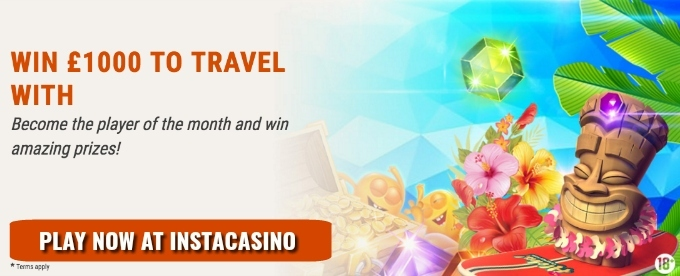 Play the InstaCasino June battle and win cash and prizes