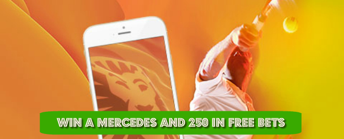 Win a Mercedes and 250 in free bets at LeoVegas