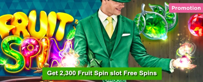 2,300 free spins are up for grabs at Mr Green Casino