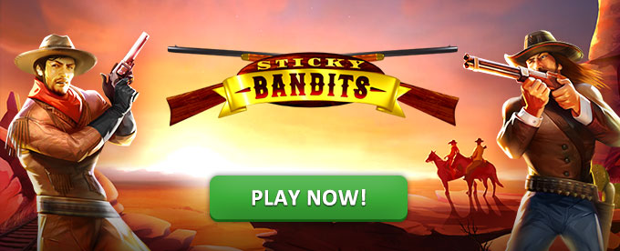 Play Sticky Bandits slot at Dunder casino soon