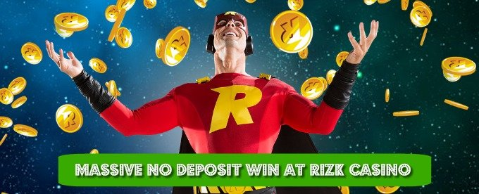 Read the amazing win story from Rizk casino