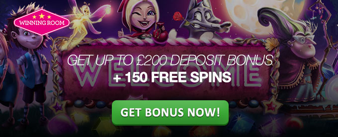 Sign up with WinningRoom casino and get bonus up to £200