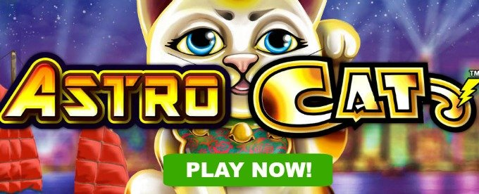 Play Astro Cat slot at Mr Green casino