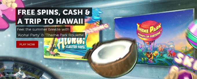 Win Hawaiian trip and cash at Betsafe