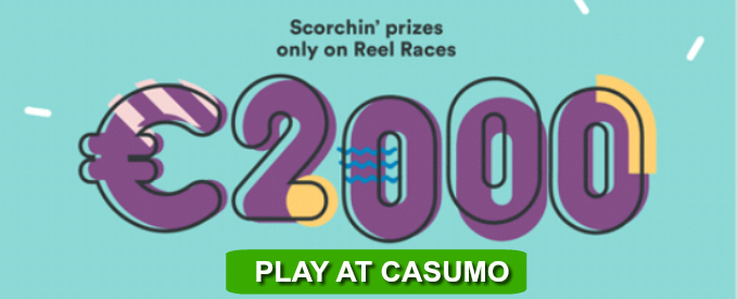Join Casumo Reel races and win up to £5K