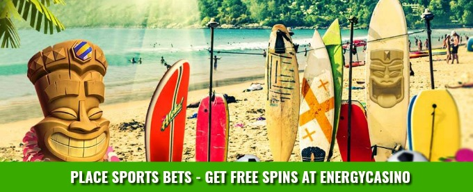 Place Sports Bets - get Free Spins at EnergyCasino