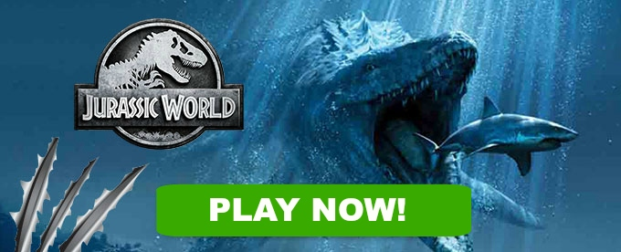 Play Jurassic World slot at Dunder Casino