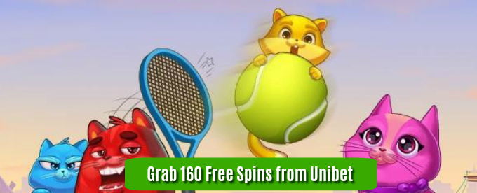 Get 160 Copy Cats slot Free Spins at Unibet Casino